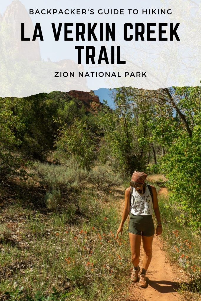 La Verkin Creek Trail Pinterest Pin