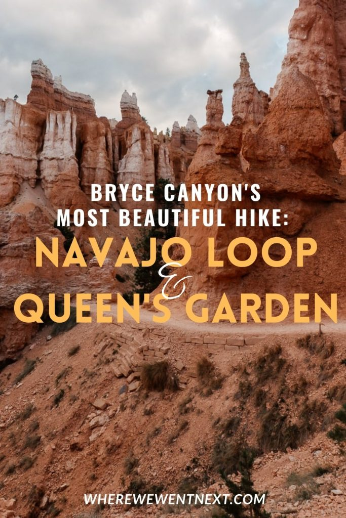 Bryce Canyon landscape shot with text overlay